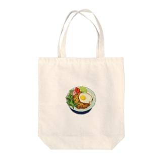 ガパオライス Tote bags