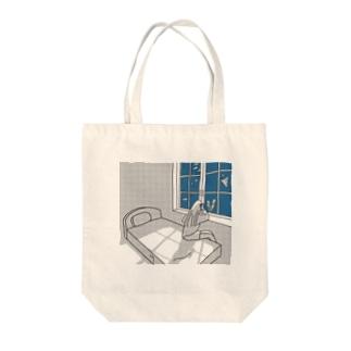 お魚ハウス Tote bags