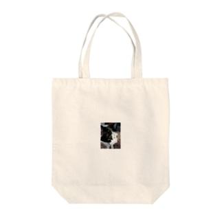 うちの猫〜泥棒猫フェイス〜 Tote bags