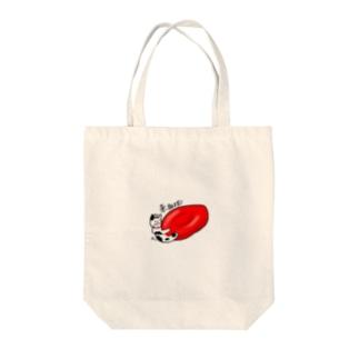 ギュウっと赤血球 Tote bags