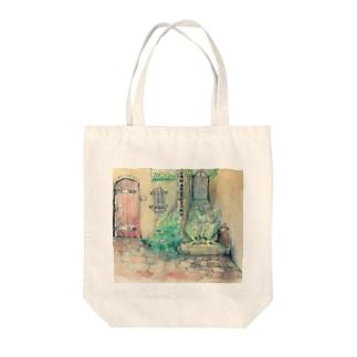 中年レオン Tote bags