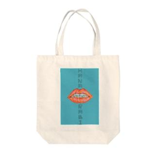 歯並び Tote bags