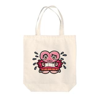 ハートブレイクちゃん Tote bags