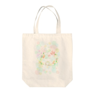 colorfulましまろう Tote bags