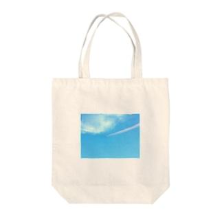 ブルーインパルス Tote bags