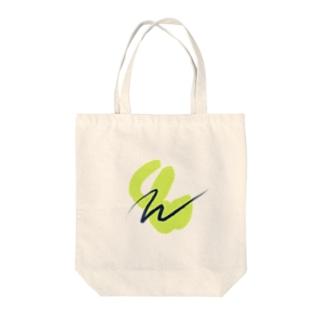 黄緑 アート デザイン Tote bags