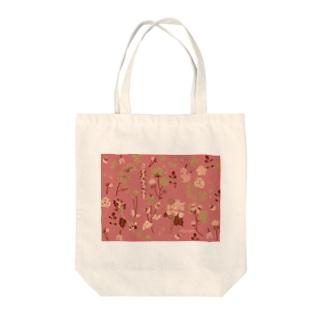 野の草花(ピンク) Tote Bag