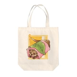 トロ箱戦隊本部のあんこ多めの関東風桜餅 Tote bags