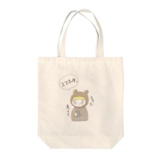 スマホ Tote bags