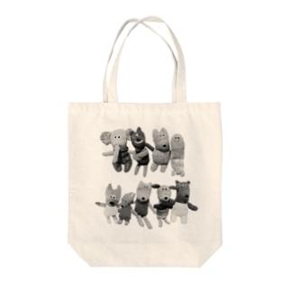 モノクロアニマルズ! Tote Bag