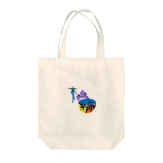 ABYSS VIRUS Tote bags
