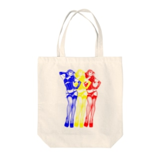 トリプル・ウノ(信号) Tote bags