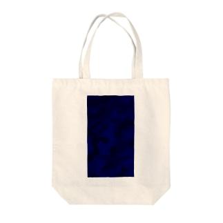 Meisai_Blue Tote bags