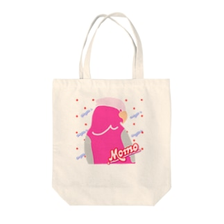 Neoモモイロインコ Tote bags