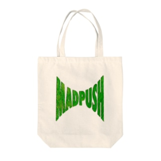 MAD PUSH Tote bags