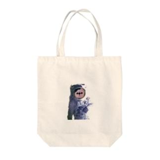 愛猫ボムは宇宙飛行士になった Tote bags
