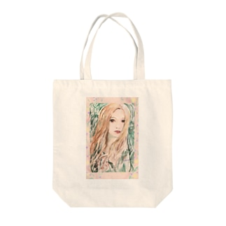 coaiの花と女の子スペシャル Tote bags