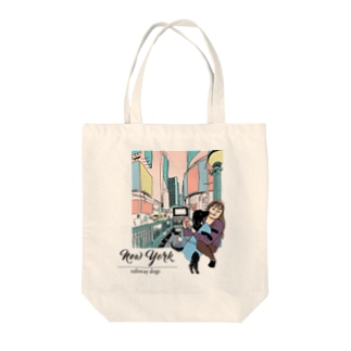 YKKとクロエ in ニューヨーク(カラー) Tote bags