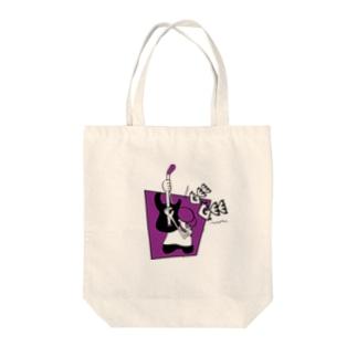 NEW-SCHOOL HARDCORE GUITARIST!! Tote bags