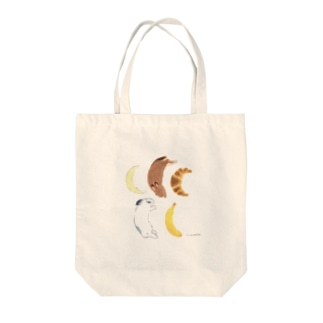 三日月 Tote bags