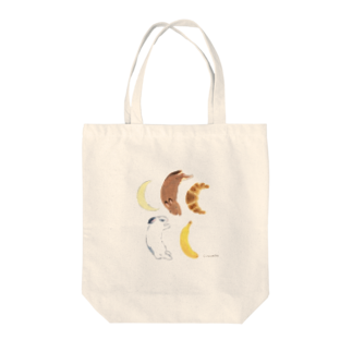 SCHINAKO'Sの三日月 Tote bags