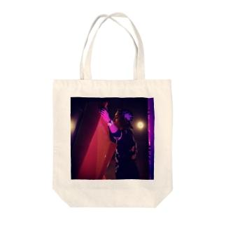 白濱○嵐 Tote bags