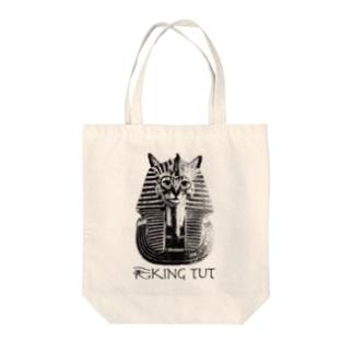Nobigao ツタンカーメン猫 Tote bags