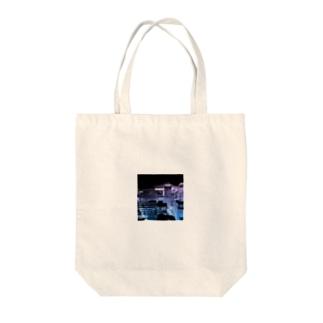 イマソラ Tote bags