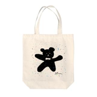 熊 Tote bags
