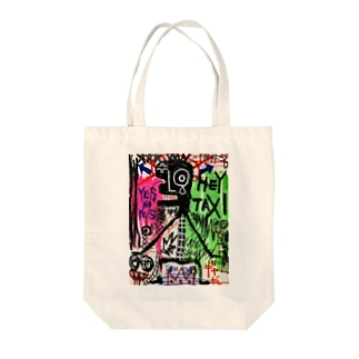 extreme scream Tote bags