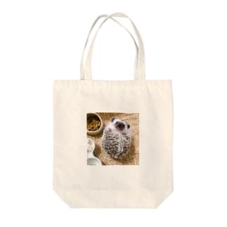 いるかの琴之仁(属性:ハリネズミ) Tote bags