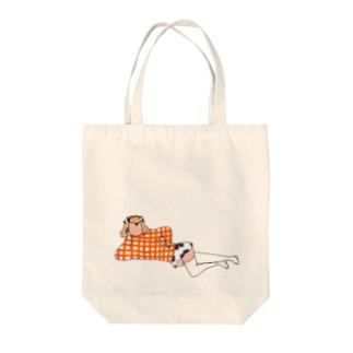 Ushi-c Tote bags