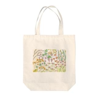 色々な草花 Tote bags