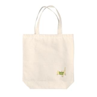 """クレステッドゲッコー""""Crested Gecko"""" Tote bags"""