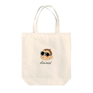 アニマル君トートバッグ(6色) Tote bags