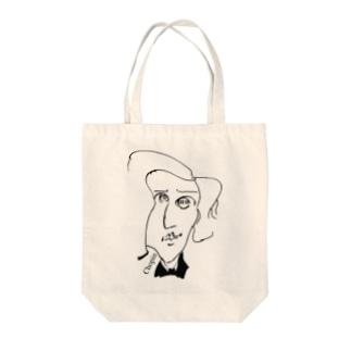 ショパン Tote bags