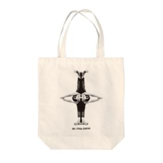 Ma Bhakti Hima Giri先生 黒 Tote bags