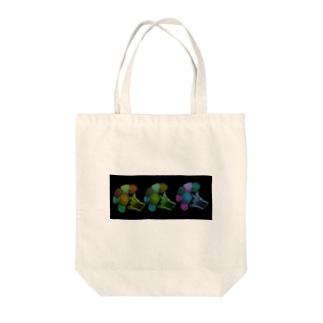 ブロッコリーの成れの果て Tote bags