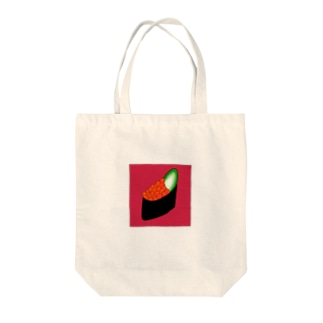 いくら Tote bags