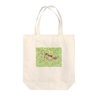 リスちゃん Tote bags