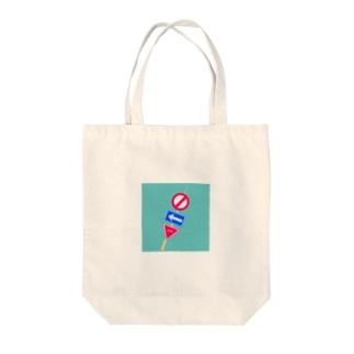 標識おでん Tote bags
