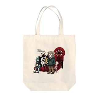 UMAフレンド Tote bags