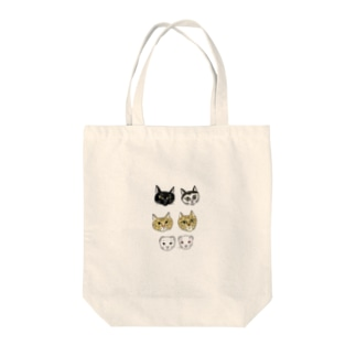 cats & ferrets Tote bags