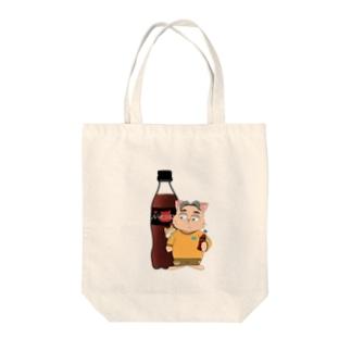 ねこ先生 Tote bags