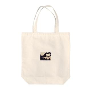 らぶ Tote bags