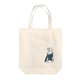 メランコリック・ウーマン Tote bags