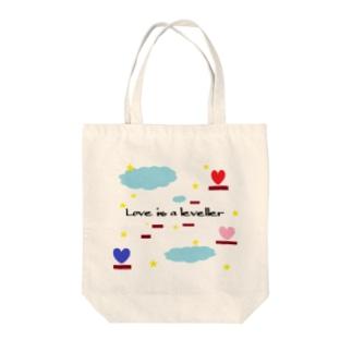 トロワ イラスト&写真館の恋に上下の隔てなし Tote bags