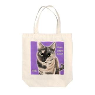 サビ猫 ムギちゃん Tote bags