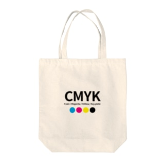 CMYKグッズ Tote bags