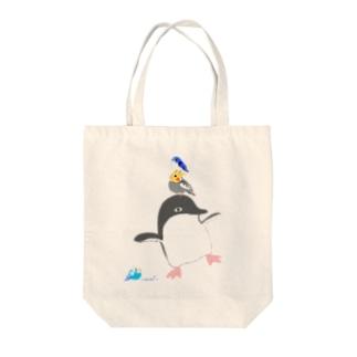 アデリーペンギンの浮かれ具合 Tote bags